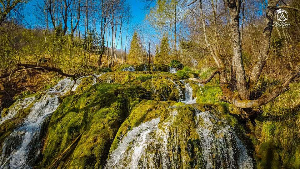 Waterfall in Gostilje