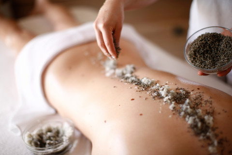 Facial and body treatments